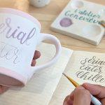 Atelier de peinture sur céramique et brunch