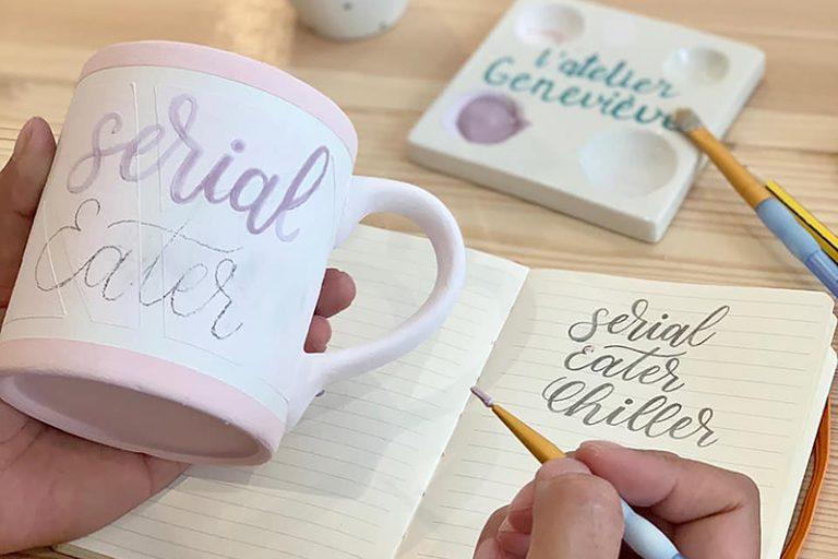 Atelier de peinture sur céramique et brunch pour allier créativité et gourmandise
